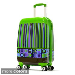 Olympia Princess Art Series 21-inch Carry-on Hardside Spinner Upright