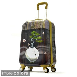 Olympia Arirang Art Series 21-inch Carry-on Hardside Spinner Upright