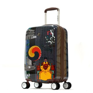 Olympia 'King Sejong' Art Series 21-inch Carry-on Hardcase