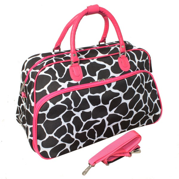World Traveler Giraffe 22 Lightweight Duffle Bag