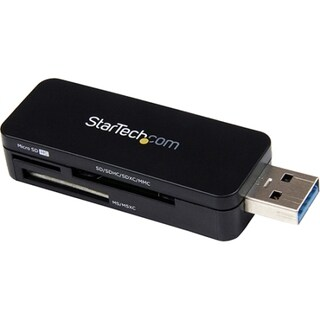 StarTech.com USB 3.0 External Flash Multi Media Memory Card Reader -