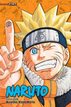 Naruto 3-In-1 Edition 8 (Paperback)