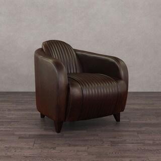 Jupiter Vintage Tobacco Leather Chair