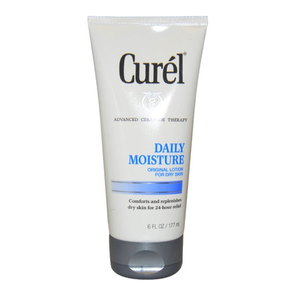 Curel Daily Moisture, Original Lotion for Dry Skin 6 oz Melvita Moisturising Lip Balm 3,5g