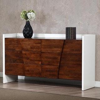 Venus Autumn Oak 6-drawer Dresser