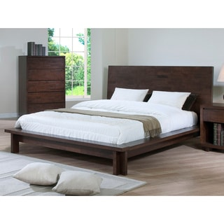 Harvey Wenge Queen Size Bed Free Shipping Today 80005014
