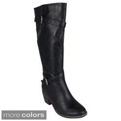 Reneeze 'ABBA-11' Women's Riding Boots