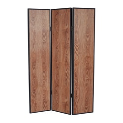 Java 3-Panel Wood Screen (China)