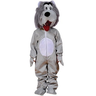Boys Grey Wolf Costume