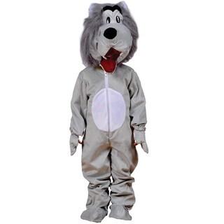 Boys Grey Wolf Costume