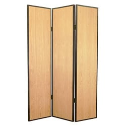 Element 3-panel Wood Screen (China)