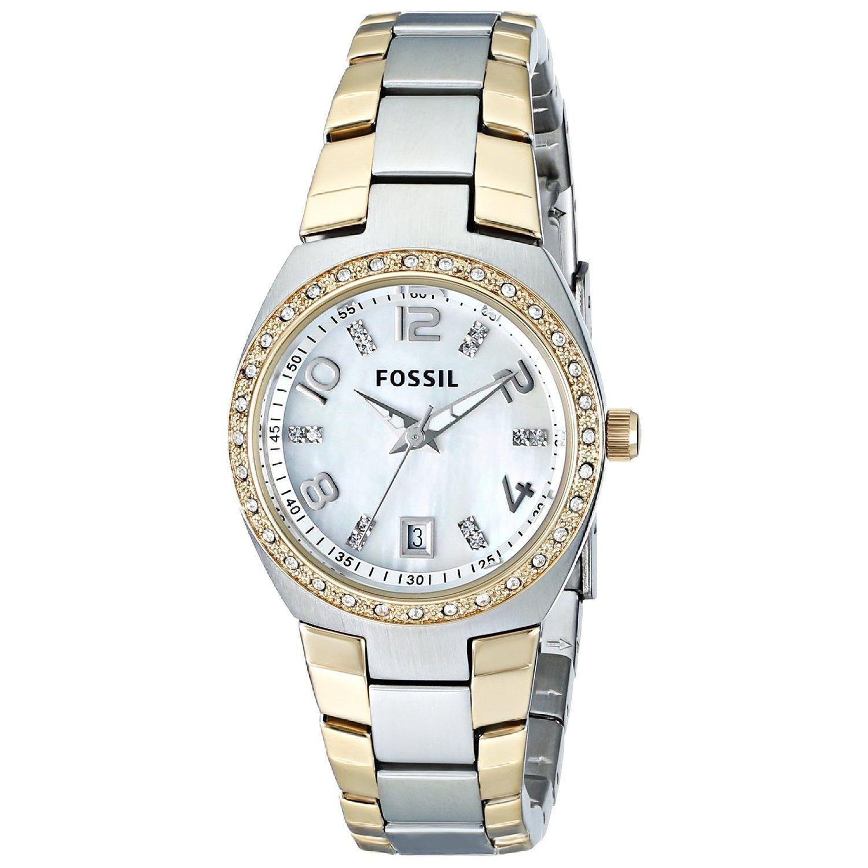 Fossil Women's AM4183 Classic Watch, Silver, Size One Siz...