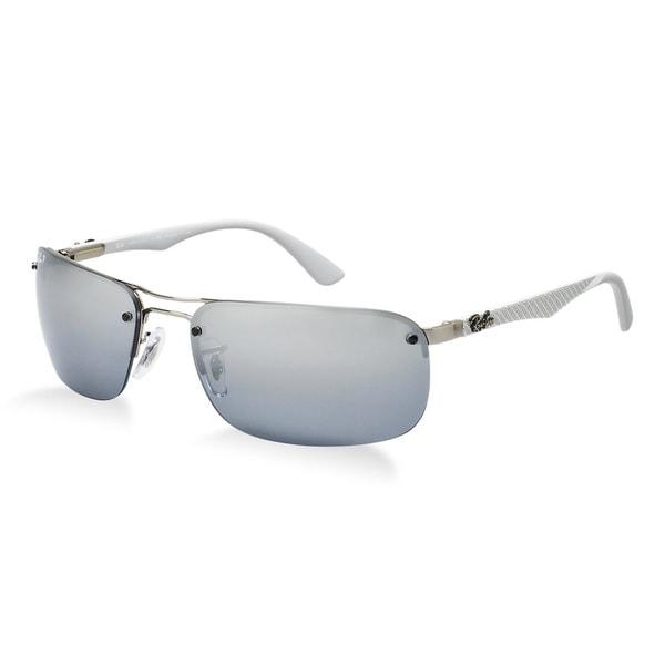 Ray-Ban 'Tech' RB8310 Polarized Shiny Gunmetal Sunglasses