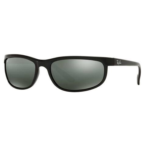 d04e00681c5d Ray-Ban RB2027 Predator 2 Polarized Sunglasses Black/ Grey Mirror 62mm -  Black