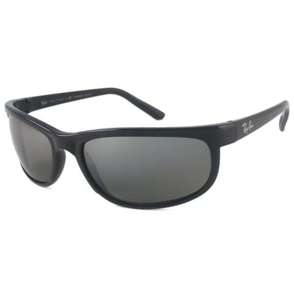 Shop Ray Ban Men's Predator 2 Glossy Black Sunglasses
