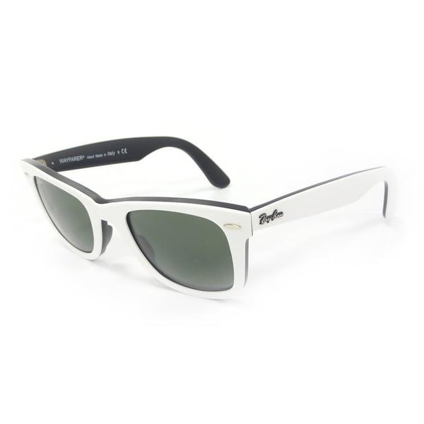 Ray-Ban Men's Original Wayfarer White Sunglasses