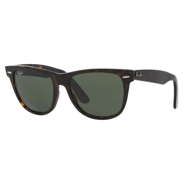 00927c2dd72 Shop Ray-Ban Men s Original Wayfarer Tortoise Sunglasses - Free ...