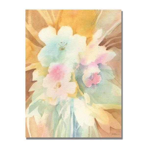 Shelia Golden 'Secret Garden' Canvas Art