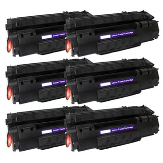 NL-Compatible Q5949A (49A) Black Compatible Laser Toner Cartridge (Pack of 6)