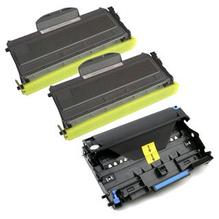 Brother TN360 Compatible Black Toner Cartridges / DR360 Compatible Drum Units (Pack of 3)