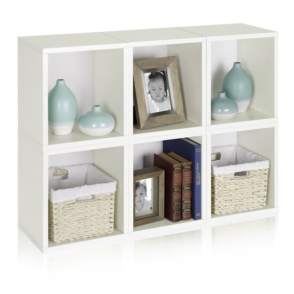 Axel Eco Stackable Modular Storage Cube Bookcase By Way