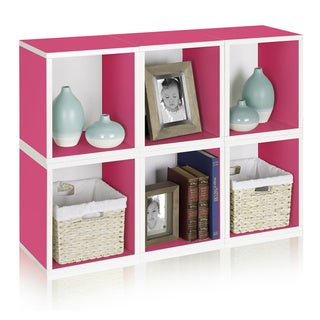 Axel Eco Friendly Stackable Modular Storage Cube Bookcase LIFETIME WARRANTY (made from sustainable non-toxic zBoard paperboard)