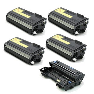 Brother Compatible TN460, 1 DR400 Drum Unit (Pack of 5)