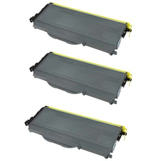 Brother TN360 Compatible Black Toner Cartridges (Set of 3)