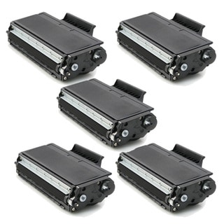 Brother TN580 Black Compatible Toner Cartridges (Pack of 5)