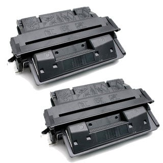 HP C4127X (27X) Black Compatible Laser Toner Cartridge (Pack of 2)