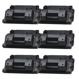 HP CC364A (64A) Black Compatible Laser Toner Cartridge (Pack of 6)