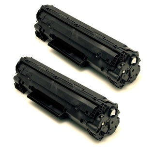 HP CB436A (36A) Black Compatible Laser Toner Cartridge (Pack of 2)