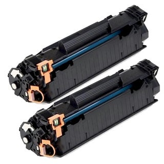 HP CE285A (85A) Black Compatible Laser Toner Cartridge (Pack of 2)