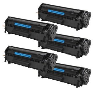 HP Q2612A (12A) Black Compatible Laser Toner Cartridge (Pack of 5)