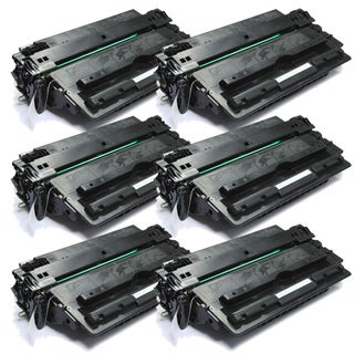 HP Q7516A (16A) Black Compatible Toner Cartridge (Pack of 6)