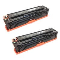 HP CF210A (131A) Black Compatible Laser Toner Cartridge (Pack of 2)