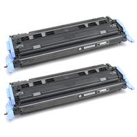 HP Q6000A (124A) Black Compatible Laser Toner Cartridge (Pack of 2)