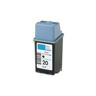 HP C6614DN (HP 20) Black Compatible Ink Cartridge