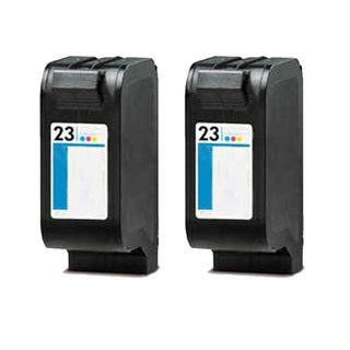 HP C1823D (HP 23) Tri-Color Compatible Ink Cartridge (Pack of 2)