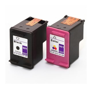 HP 901XL Black+Color High-Yield Compatible Ink Set