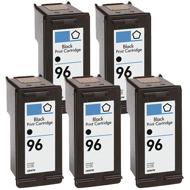 N HP 96 (C8767WN) Black High-Yield Compatible Ink Cartrid...