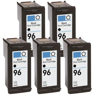 HP 96 (C8767WN) Black High-Yield Compatible Ink Cartridge (Pack of 5) https://ak1.ostkcdn.com/images/products/8172662/8172662/HP-96-C8767WN-Black-High-Yield-Compatible-Ink-Cartridge-Pack-of-5-P15511709.jpg?impolicy=medium