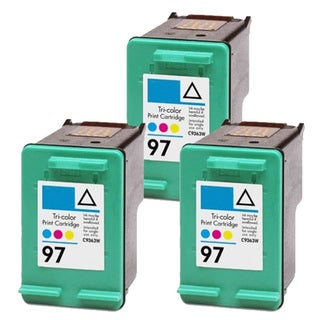 HP 97 (C9363WN) Color Compatible Ink Cartridge (Pack of 3)