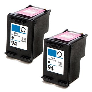 HP 94 (C8765WN) Black Compatible Ink Cartridge (Pack of 2)