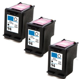 HP 94 (C8765WN) Black Compatible Ink Cartridge (Pack of 3)