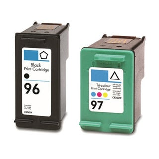 HP 96 (C8767WN) + 97 (C9363WN) Black+Color Compatible Ink Cartridge (Pack of 2)