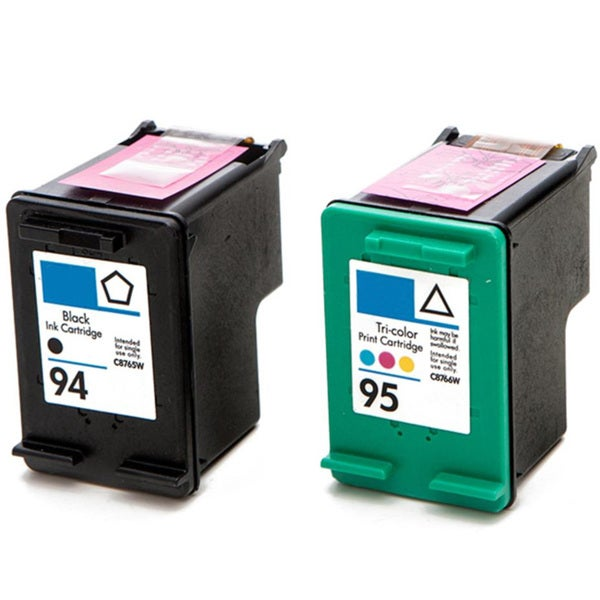 HP 94 (C8765WN)+ 95 (C8766WN) Black+Color Compatible Ink Cartridge (Pack of 2)