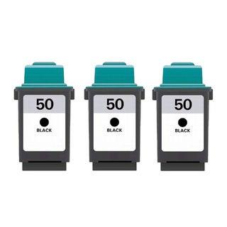 Lexmark #50 (17G0050) Black Compatible Ink Cartridge (Pack of 3)