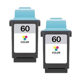 Lexmark 60 Color Compatible Ink Cartridge (Pack of 2)