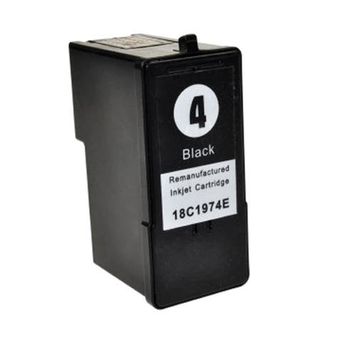 Lexmark #4 (18C1974) Black Compatible Ink Cartridge